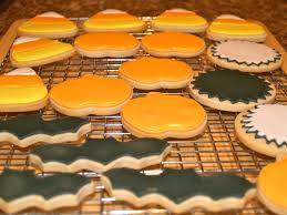sugar cookies with royal icing happy halloween the dessert