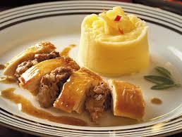 cuisine chapon roti recette chapon rôti aux deux pommes 403 nicolas