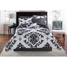 Jack Skellington Comforter Set Mainstays Classic Noir Bed In A Bag Bedding Set Walmart Com