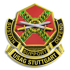 stuttgart coat of arms usag stuttgart crest u s army garrison stuttgart distinct u2026 flickr