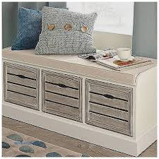 Bedroom Storage Bench Three Drawer Storage Bench Throughout White With Drawers Decor