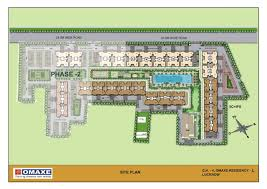 Royal Castle Floor Plan by Omaxe Residency Property In Lucknow