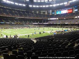 mercedes superdome mercedes superdome section 147 seat views seatgeek