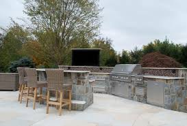 backyard bbq bar designs custom outdoor bar bbq grill design installation bergen county