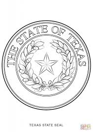 seal coloring page texas state seal coloring page free printable coloring pages for