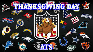 nfl 2015 thanksgiving day picks ats the spread