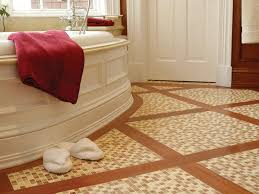 stone tile bathroom floors hgtv