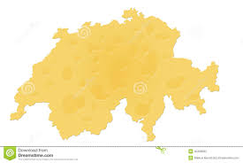 Swiss Map Switzerland Map Stock Photo Image 6216290