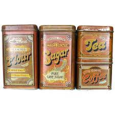 vintage metal kitchen canisters 54 best vintage tins images on vintage tins vintage