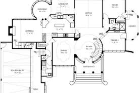 modern open floor house plans 16 simple open floor house plans basement awesome home plans with