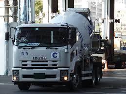 file isuzu forward white cement mixer truck jpg wikimedia commons