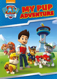 paw patrol my pup adventure large softcover