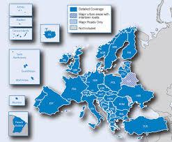 West Europe Map Garmin Maps Western Europe Garmin Maps Western Europe Garmin