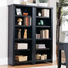 Bookshelves Decorating Ideas Kathy Ireland Home By Martin Tribeca Loft Bookcase With Doors