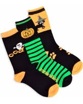 here u0027s a great deal on women u0027s lurex ghost halloween crew socks