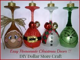 Handmade Christmas Decoration by Easy Handmade Christmas Decor Diy Dollar Store Craft