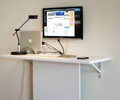 four hidden hard drives and a diy ikea standing desk apartment