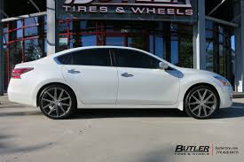nissan altima 2015 on rims nissan altima custom wheels tsw rouge 20x et tire size r20 x et