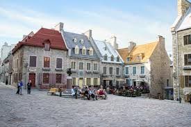 best town squares in america quebec city most european city in north america cnn travel