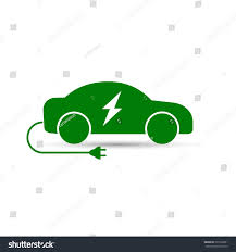 electric vehicles symbol electric car icon vector side view stock vector 525536851