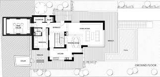 hillside floor plans hillside house above budapest by arx studio architecture beast