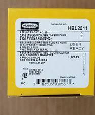hubbell wiring devicekellems hbl2511 plug locking 20 a l2120 ebay