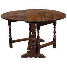 diminutive english oak gateleg table circa 1750 garden court