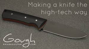 obsidian kitchen knives making a knife the high tech way youtube