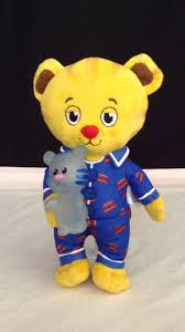 daniel tiger plush toys daniel tiger snuggle and glow youtube