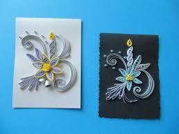 set of 3 christmas handmade mini greeting cards by rudibelart