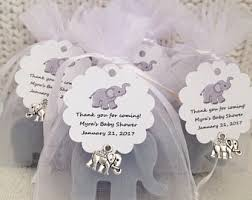 baby showers favors elephant baby shower etsy