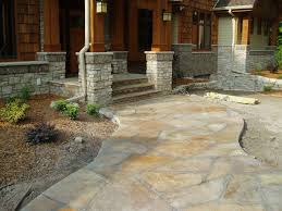 Concrete Ideas For Backyard Best 25 Stamped Concrete Walkway Ideas On Pinterest Stamped