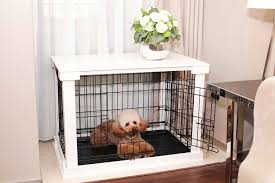 Dog Home Decor Fresh Dog Crate Nightstand 84 For Your Simple Home Decoration