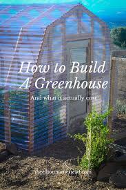 Shed Greenhouse Plans How To Build A Greenhouse