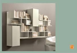 librerie bianche libreria componibile a parete su misura artik sololibrerie con