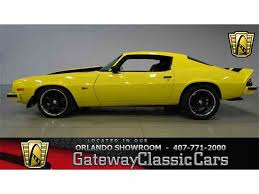 chevrolet camaro 1974 1974 chevrolet camaro for sale on classiccars com 5 available