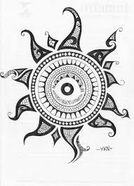 ojos tribal tattoo buscar con google u2026 pinteres u2026