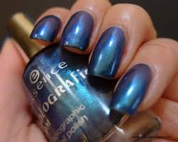 i relish nail polish essence blue ray