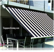 can i install awning on condo balcony