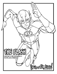 the flash the cw tv series tutorial version two u2013 draw it too