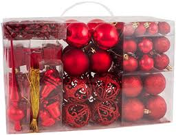 brubaker 102 pack assorted ornaments
