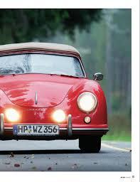 panorama porsche 2014 porsche 356 pre a cabriolet 1953 porsche panorama mag 05 2014