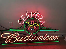 captain morgan neon bar light budweiser neon beer cerveza neon sign glass tube neon light for sale