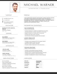 The Best Resume Builder by 50 Most Professional Editable Resume Templates For Jobseekers