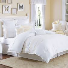 bed white bedding sets queen bedroom modern decor with