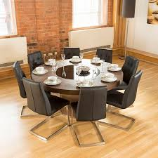 Modern Round Dining Table Sets Stunning Ideas Dining Table Seats 8 Bright Idea Round Dining Room