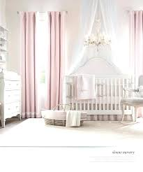 Pink Curtains For Nursery Clame Co
