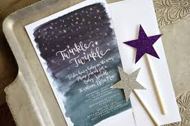 twinkle twinkle baby shower invitations trisha s painted watercolor twinkle twinkle sprinkle baby