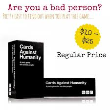 cards against humanity for sale cards against humanity not on sale mylitter one deal at a time