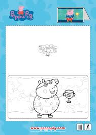 peppa pig father u0027s day printable be a fun mum